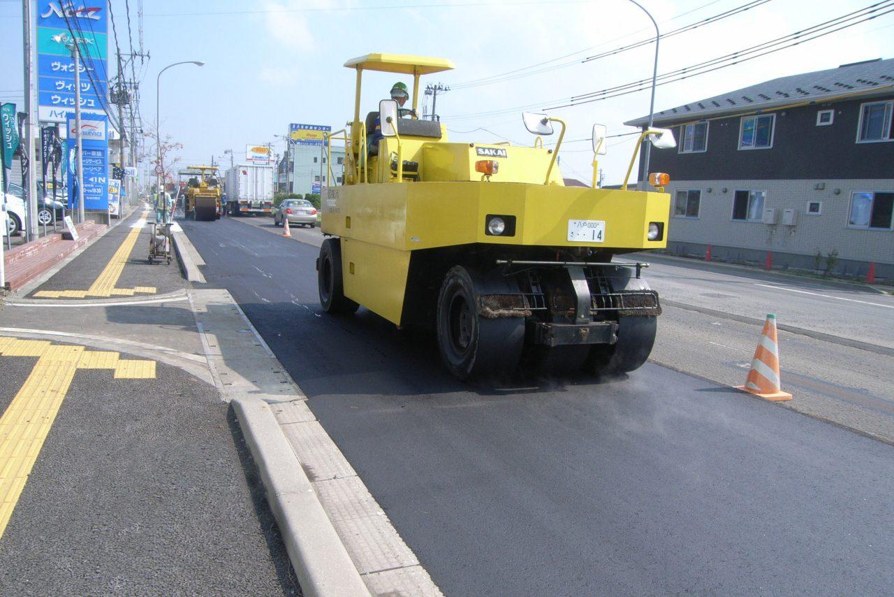 国道454号舗装補修工事